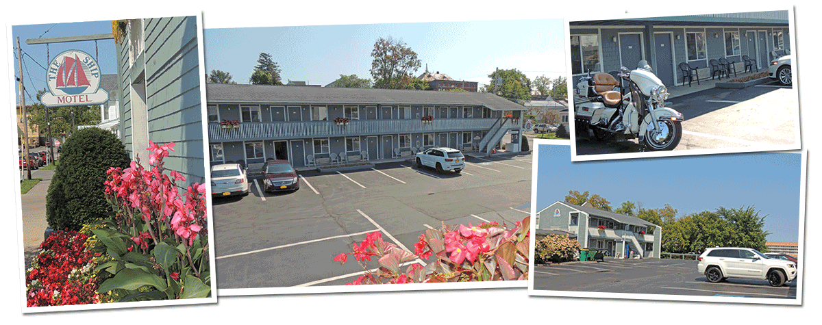 Alexandria Bay NY Motel - The Ship Motel in the Thousand Islands NY - Alex Bay